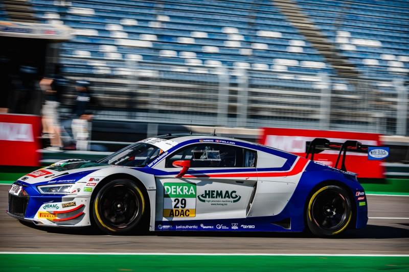 ADAC GT Masters Lausitzring 2021: Feller holt Pole für Rennen 1