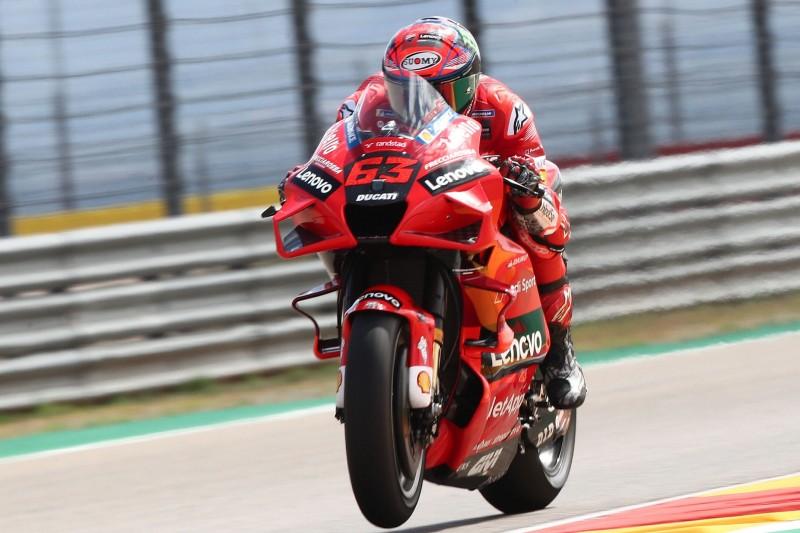 MotoGP-Qualifying Aragon: Ducati-Duo vereitelt Quartararo die Pole