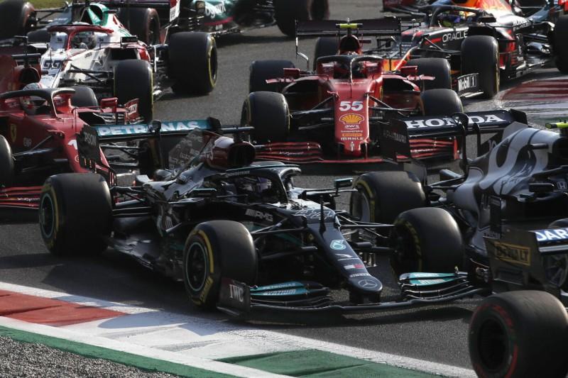 F1-Sprint Monza 2021: Hamilton fällt auf Platz fünf zurück!
