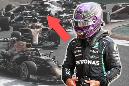 Video-Analyse: So geknickt war Hamilton, als das Adrenalin weg war!