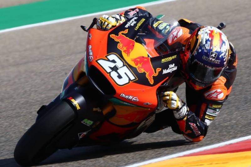 Moto2-Rennen Aragon: Ajo-Duo feiert Doppelsieg und Teamtitel