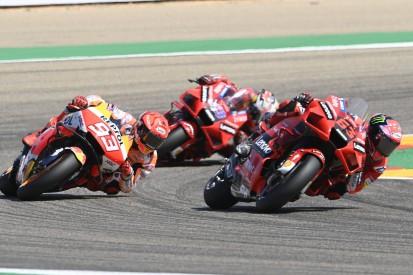 MotoGP-Rennen Aragon: Premierensieg für Bagnaia nach Duell mit Marquez