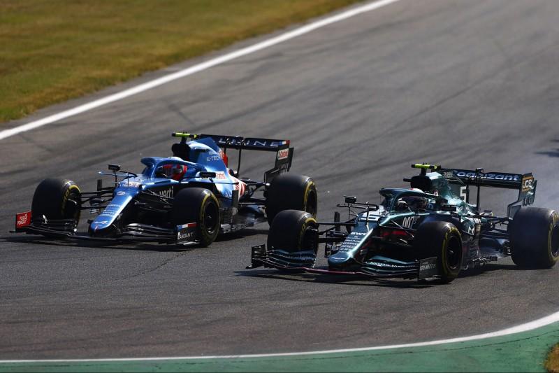 Nach Stroll-Aktion & Ocon-Rempler: Sebastian Vettel in Monza nur Zwölfter