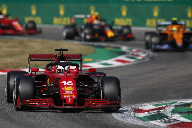Leclerc: Hätte Perez eh nicht hinter mir gehalten