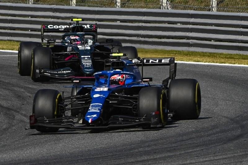 Esteban Ocon kritisiert Strafe nach Vettel-Zwischenfall