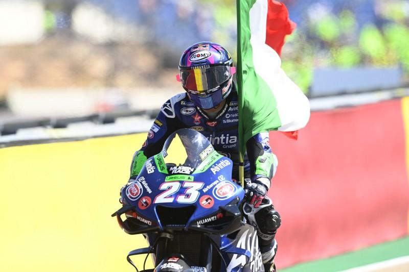 Bastianini: Bestes Rookie-Ergebnis in Aragon nach Kampf mit Quartararo