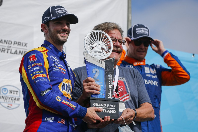 Alexander Rossi holt IndyCar-Podium in Portland: Fortschritte im Sommer