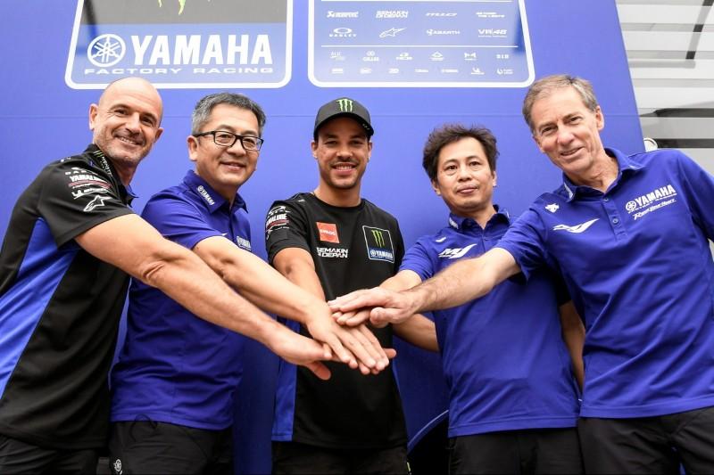 Yamaha bestätigt Morbidelli im Werks- und Dovizioso im Satellitenteam