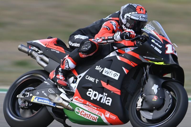 MotoGP Misano FT1: Vinales führt vom Regen unterbrochenes Training an