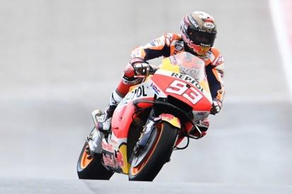 MotoGP Austin FT1: Marc Marquez auf abtrocknender Strecke Schnellster