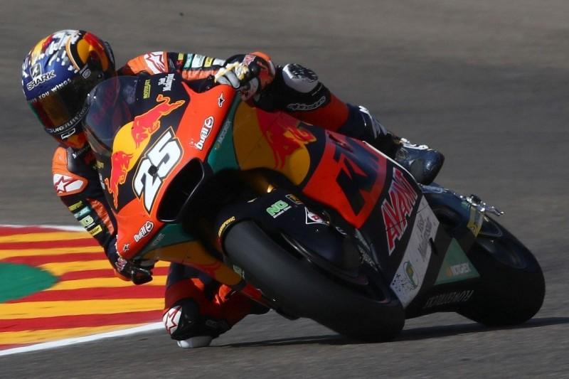 Moto2 Austin FT1: Raul Fernandez auf Platz eins, Schrötter in den Top 5