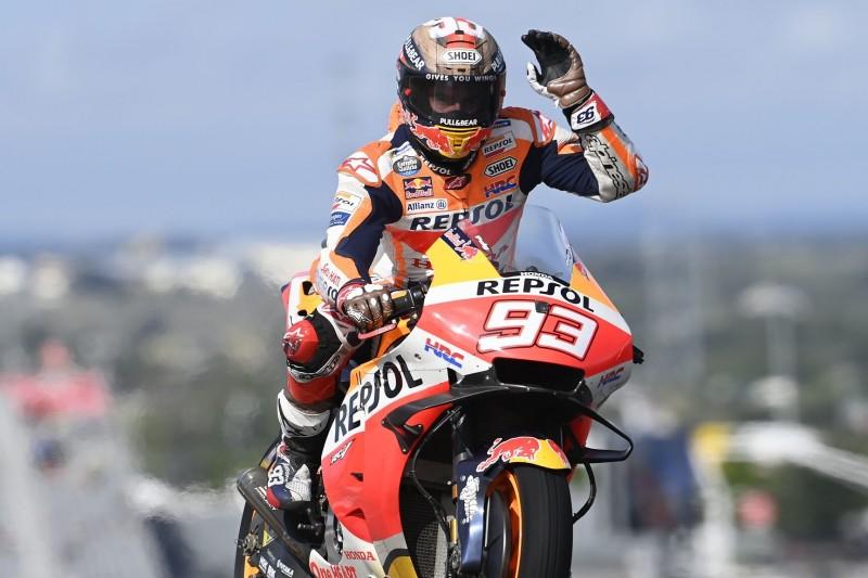 MotoGP Austin FT2: Marc Marquez knapp vor Jack Miller Schnellster