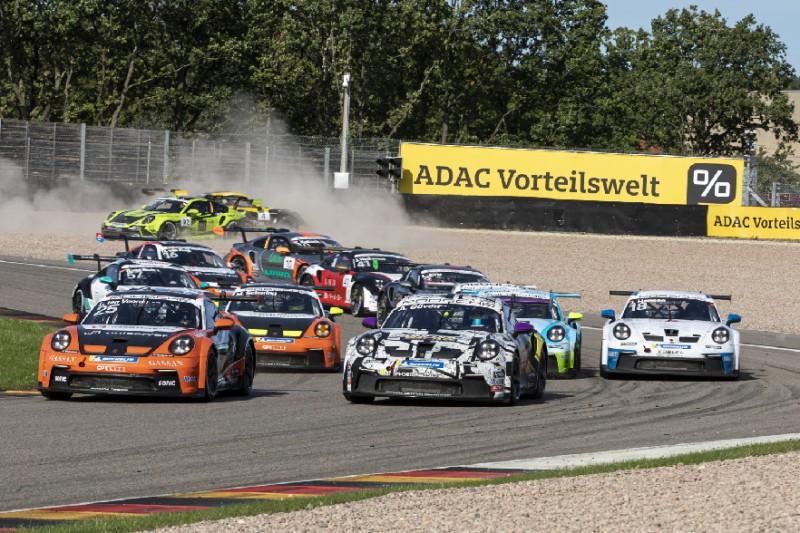 Porsche-Carrera-Cup Sachsenring 2021: Sieg für Larry ten Voorde