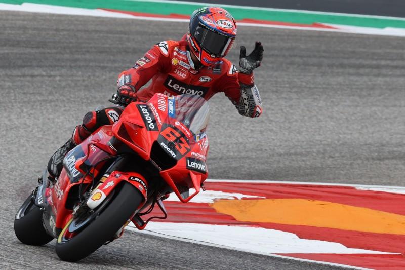 MotoGP-Qualifying Austin: Dritte Pole von Ducati-Fahrer Bagnaia in Serie