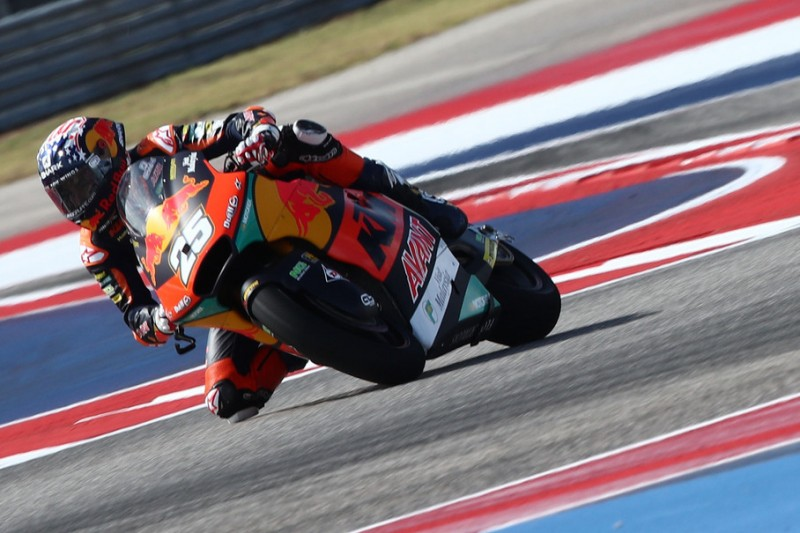 Moto2-Qualifying Austin: Raul Fernandez vor Gardner auf Pole, Schrötter 19.