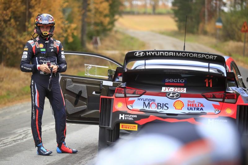 Motorschaden nach Kühlerdefekt: Thierry Neuville geht in Finnland k.o.