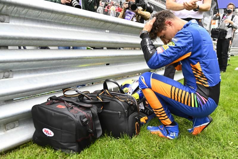 Lando Norris gibt zu: Hatte zu Beginn meiner F1-Karriere mentale Probleme