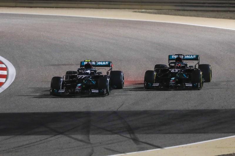Valtteri Bottas und George Russell: Voller Fokus noch auf Formel-1-Saison 2021