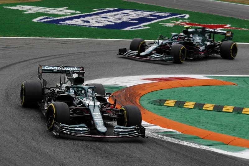 Kein Zoff zwischen Vettel und Stroll nach Vorfällen in Monza und Sotschi