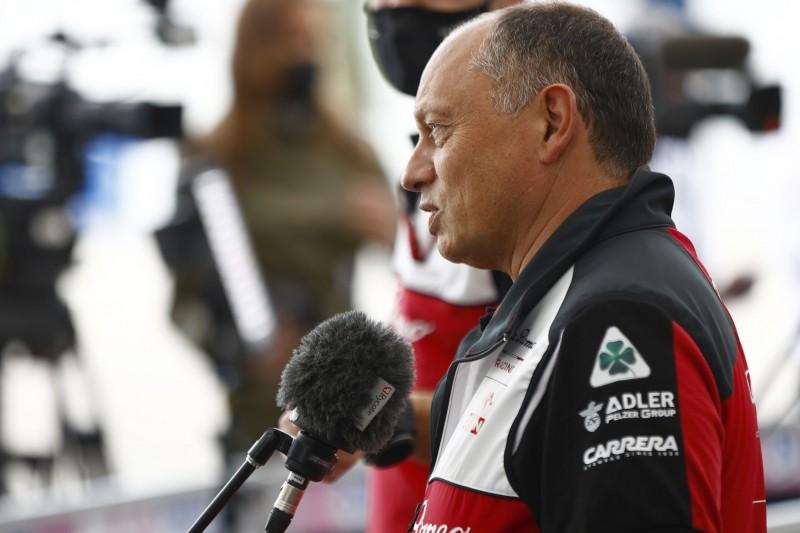 """Alfa Romeo: Vasseur hat """"keine Eile"""" bei Besetzung des zweiten Cockpits 2022"""