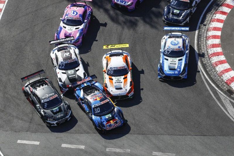 """Durcheinander am Norisring-Start: """"Selbst von Pole ganz schön chaotisch"""""""