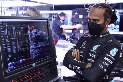 """Hamilton nach spätem Reifenwechsel und P5: """"Ein bisschen frustrierend"""""""
