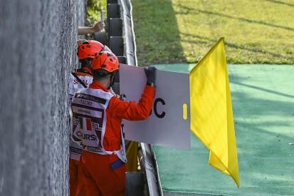 FIA plant System zur Löschung von Rundenzeiten unter Doppelgelb