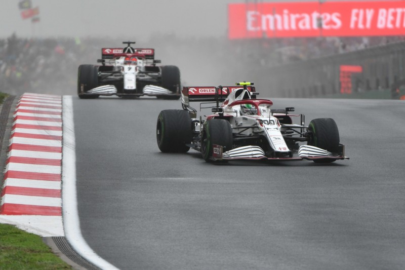 """""""Nicht ideal"""": Giovinazzi verweigerte Platztausch mit Räikkönen in Istanbul"""