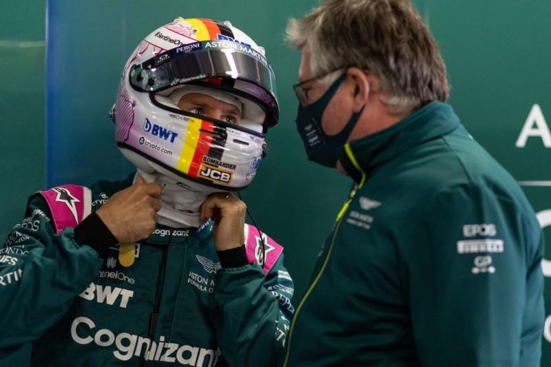 """""""Er wollte es riskieren"""": Aston-Martin-Teamchef erklärt Reifenpoker"""
