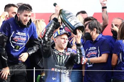 Fabio Quartararo: Vor MotoGP-Titel 2021 schlecht geträumt und schlecht gegessen