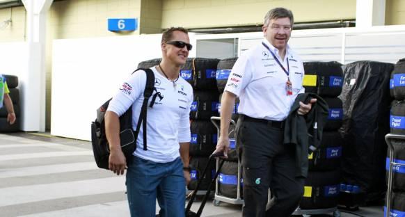 Brawn, Schumacher haberlerini yalanladı