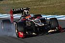 Grosjean E20'nin sürüş kolaylığını övdü