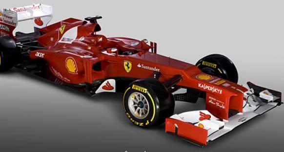 Ferrari 2012 aracının tanıtımını gerçekleştirdi