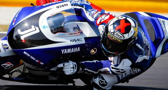 Stoner'ın katılmadığı 2012'nin ilk Moto GP testlerinde Jorge Lorenzo ilk sırada