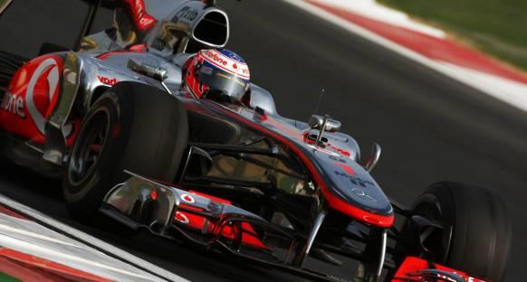 Kore Grand Prix 2011 Cumartesi antrenmanları - Button lider