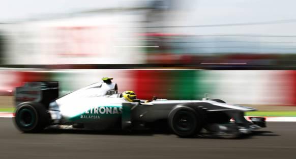 Rosberg: Bugün işim gerçekten zordu