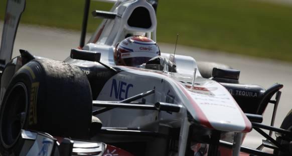 Force India'ya geçilen Sauber'de suratlar asık