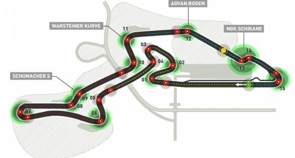65 bin kişi bekleyen Nurburgring takvimde kalmayı umuyor