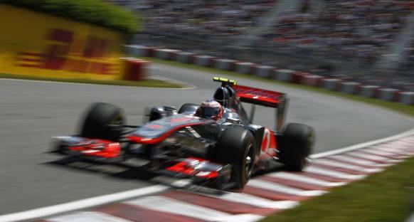 Button: McLaren rakiplerinin çok gerisinde değil