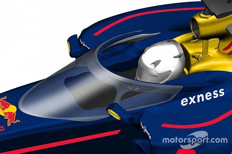 Red Bull testera sa protection de cockpit en Essais Libres