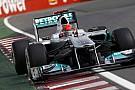Mercedes yarıştan ümitli