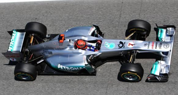 Schumacher: 3. sıra gerçekçi hedef