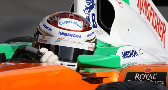 Force India: Sürücü kadrosunda bir değişiklik yok
