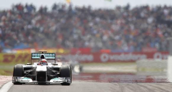 Schumacher fazla keyif alamadı