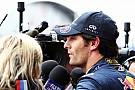 Webber, Vettel mağlubiyetinden mutlu