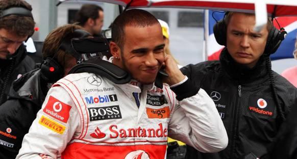 Hamilton, NASCAR aracı sürecek