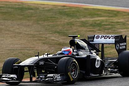 Jerez'de son günün lideri Barrichello