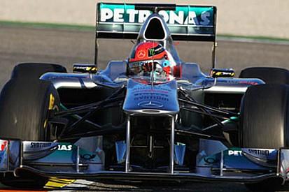 Jerez testleri 2. gün - Schumacher günü lider tamamladı