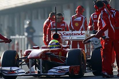 Jerez testleri 1. gün - Massa lider
