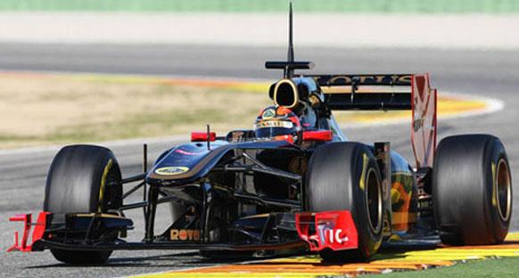 Valencia testlerini Kubica lider tamamladı